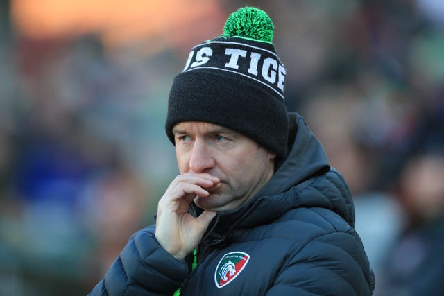 Leicester Tigers director of rugby Geordan Murphy has had his training plans put on hold