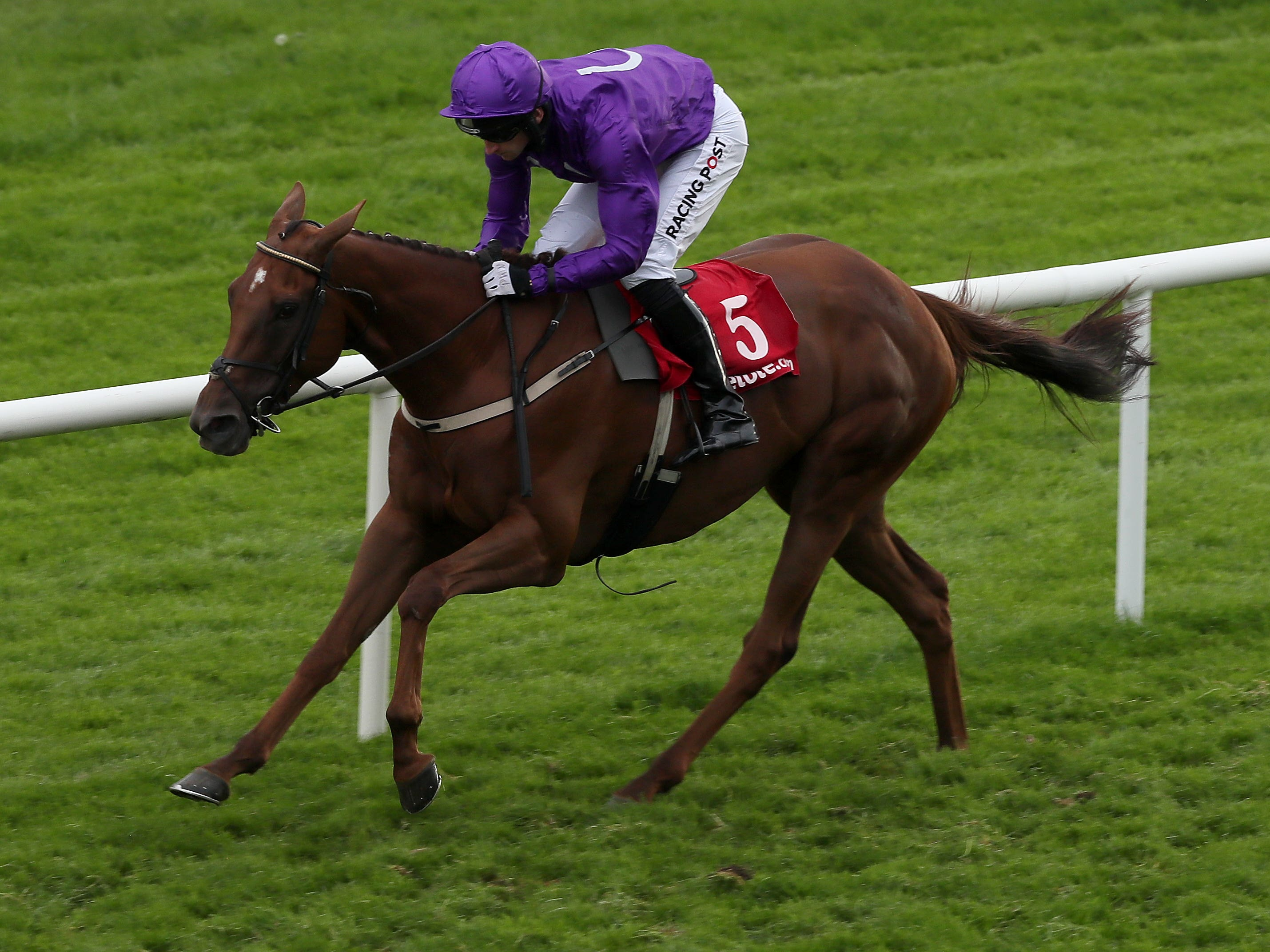 Buildmeupbuttercup will have the assistance of Frankie Dettori (Brian Lawless/PA)
