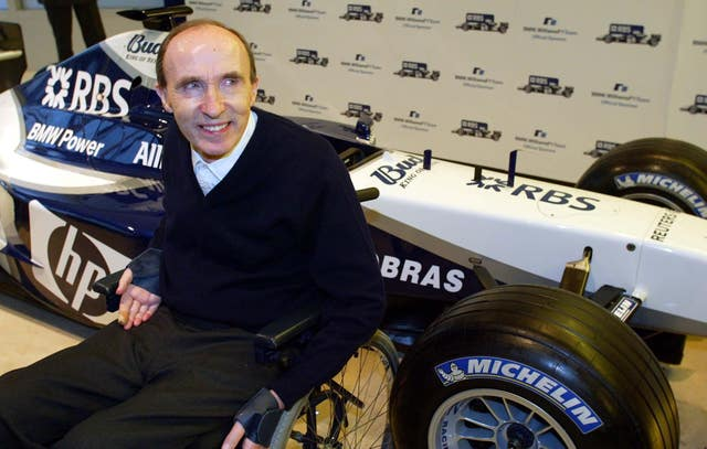 Sir Frank Williams is one of the bastions of the sport (Andrew Parsons/PA)