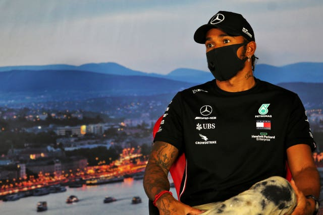 Hamilton is now in Hungary planning to follow up his victory in Austria