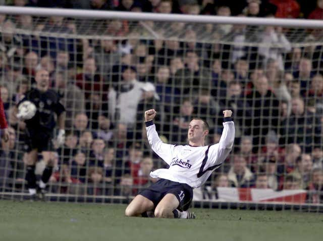 Murphy would repeat his heroics of a year earlier as he once again hit the only goal as Liverpool won at Old Trafford.