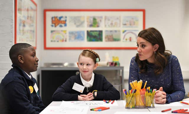 Duchess of Cambridge visit to Place2Be