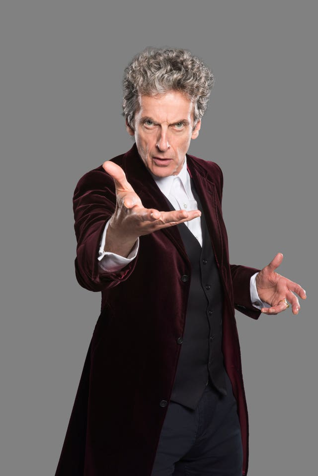 Peter Capaldi as the Doctor (Ray Burmiston/BBC)