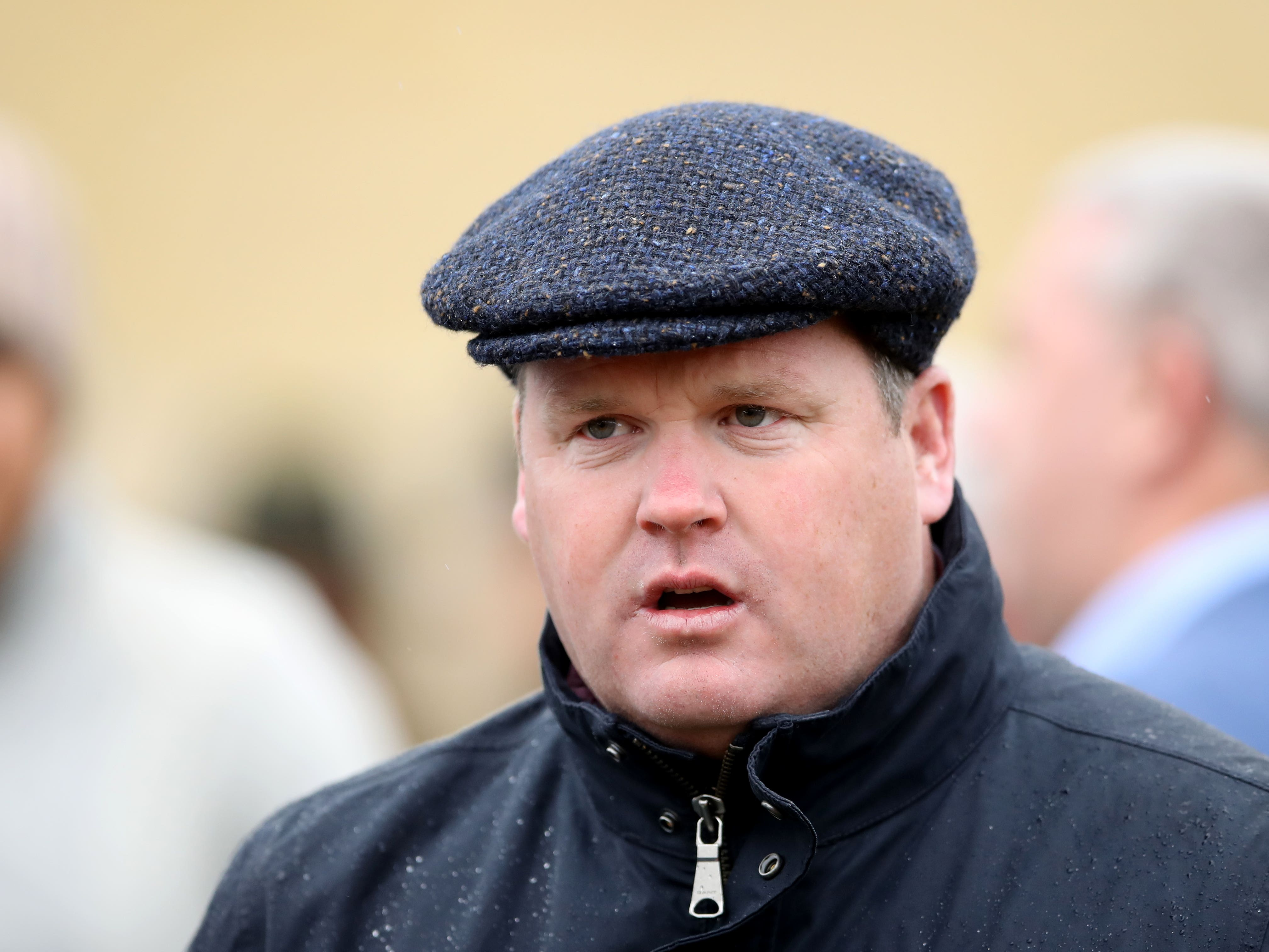 Gordon Elliott would love to be champion trainer (Tim Goode/PA)