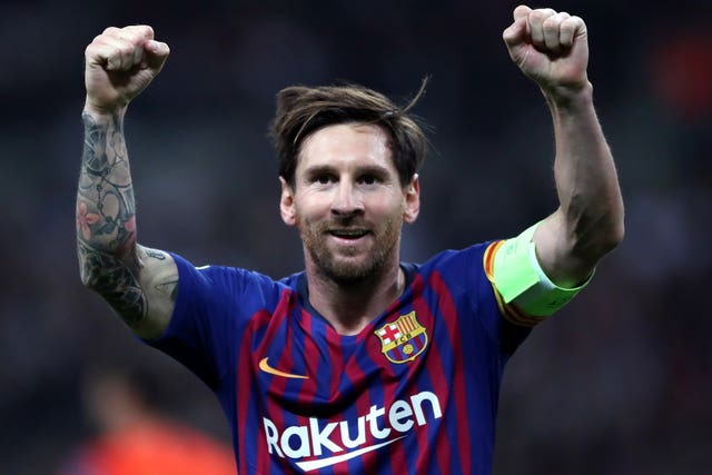 Messi was involved in a contract dispute with Barcelona last summer