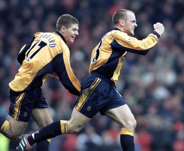 Danny Murphy hit the only goal of the game as Liverpool beat United in December 2000 for their first Premier League win in the fixture for five years.