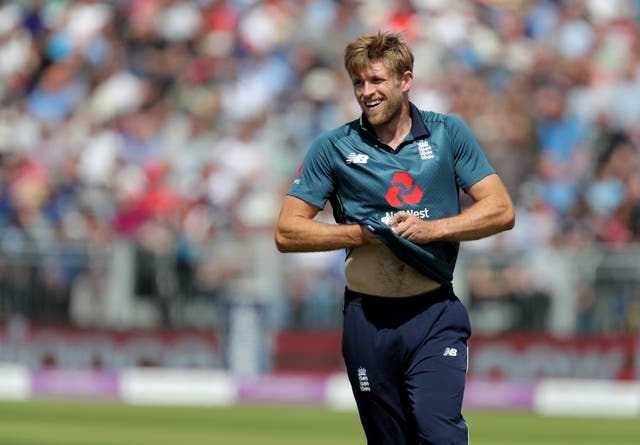 David Willey boosted his chances of World Cup selection