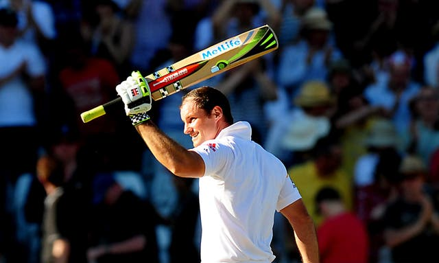 Andrew Strauss during his playing days for England