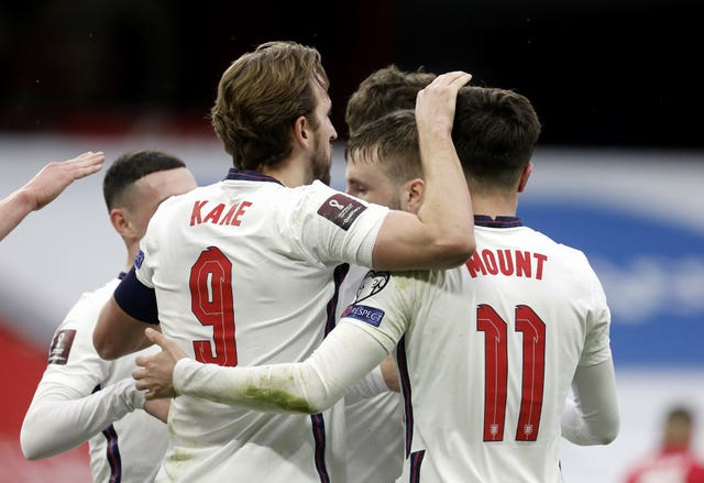 Harry Kane and Mason Mount were on the scoresheet for England