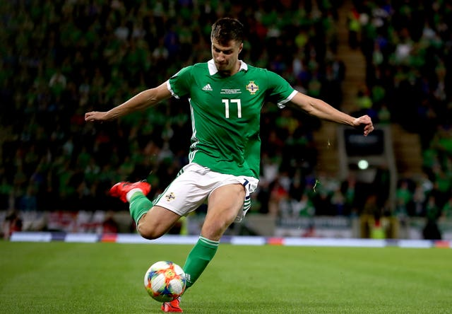 Paddy McNair, who scored twice as Northern Ireland beat the Czech Republic last month.