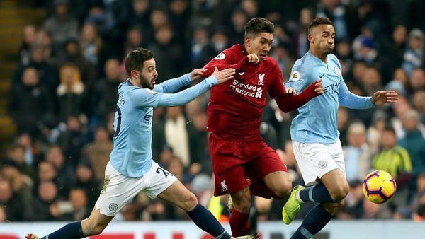 Classic encounters between Liverpool and Manchester City