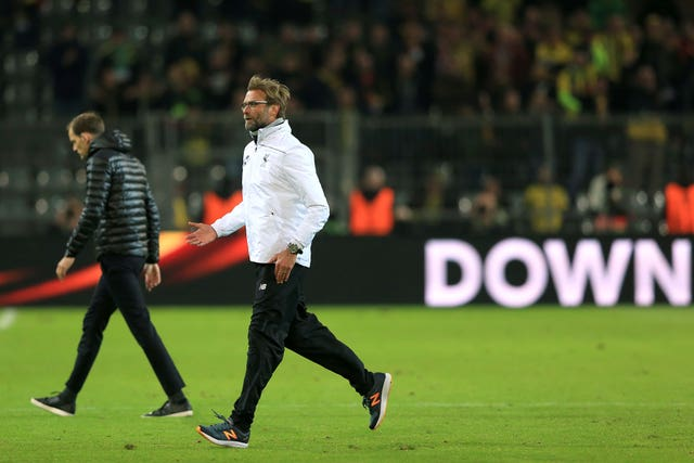 Borussia Dortmund v Liverpool – UEFA Europa League – Quarter Final – First Leg – Signal Iduna Park