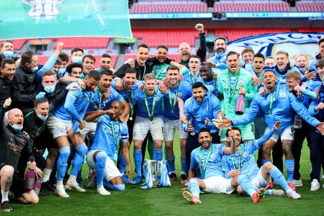 Manchester City won the Carabao Cup recently and are in the running for more silverware