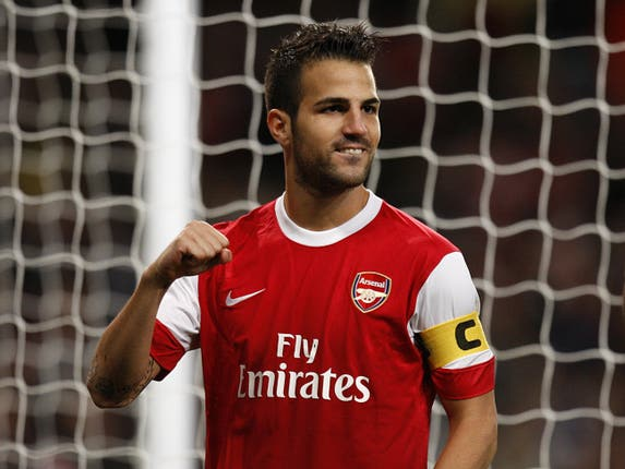 Cesc Fabregas went on to captain Arsenal having made his debut aged 16.