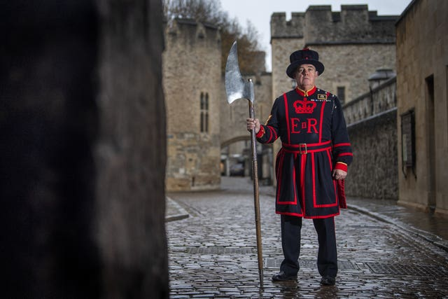 Beefeater new recruit