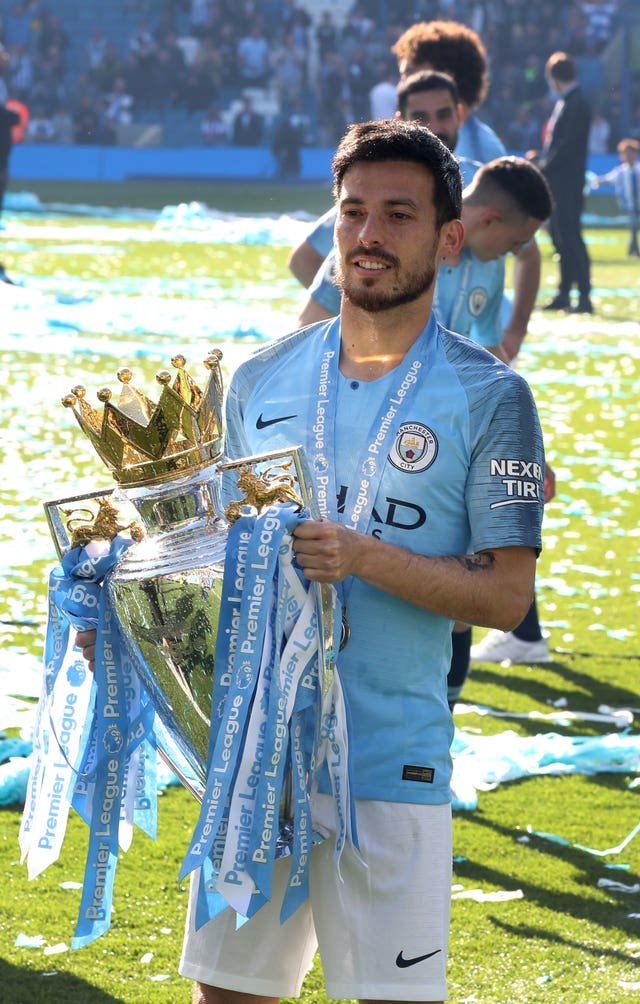 The Spaniard helped City to win four Premier League titles