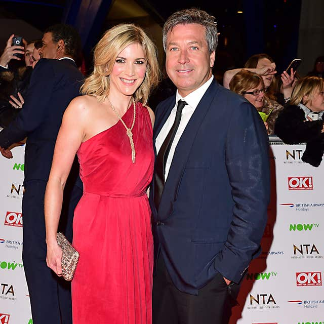 Former EastEnders actress Lisa Faulkner with partner John Torode.