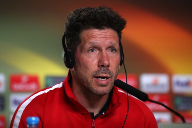 Diego Simeone enjoyed two spells as a player with Atletico Madrid