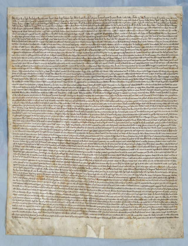 Attempted theft of Magna Carta