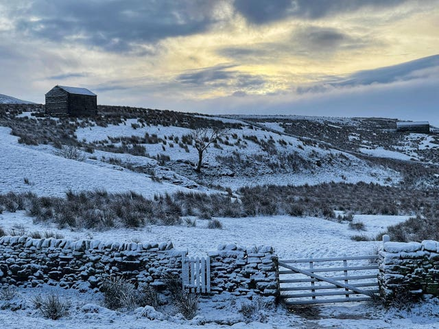 Snow in the Yorkshire Dales