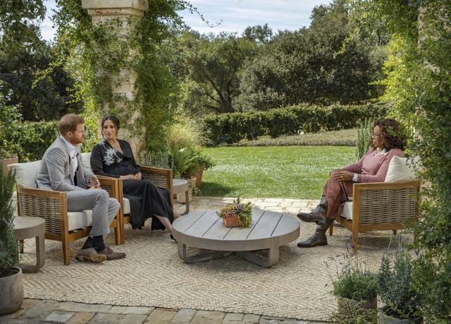 Oprah Winfrey interviews Duke and Duchess of Sussex
