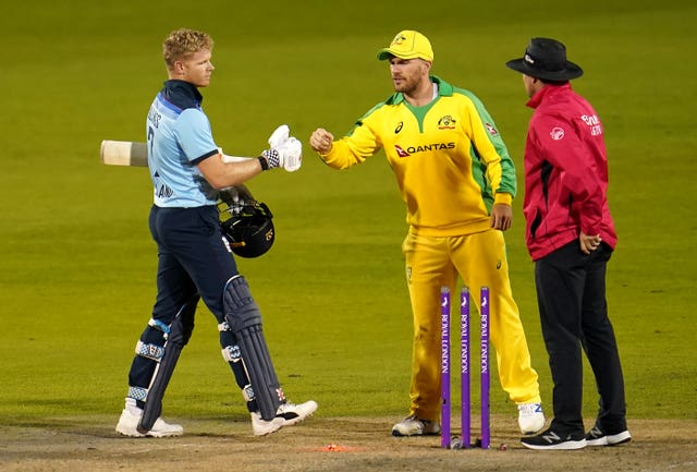 Billings was unable to prevent defeat during the first ODI.