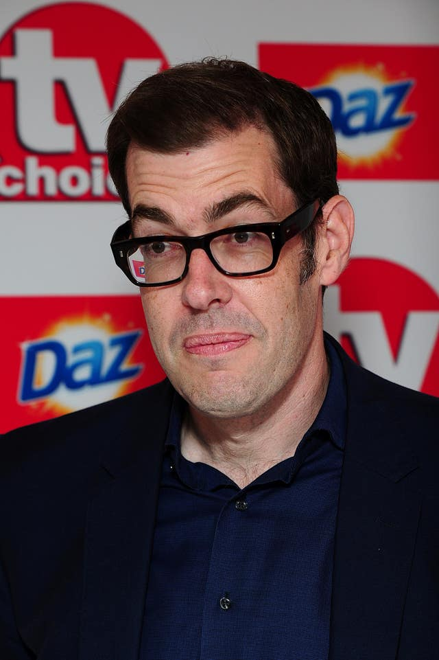TV Choice Awards host Richard Osman