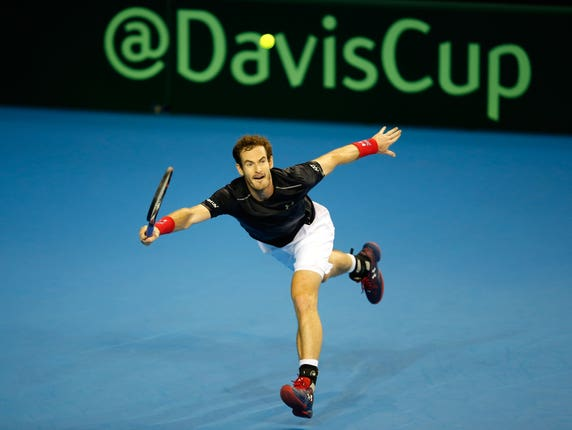 Andy Murray is keen to be part of the GB Davis Cup team later this year