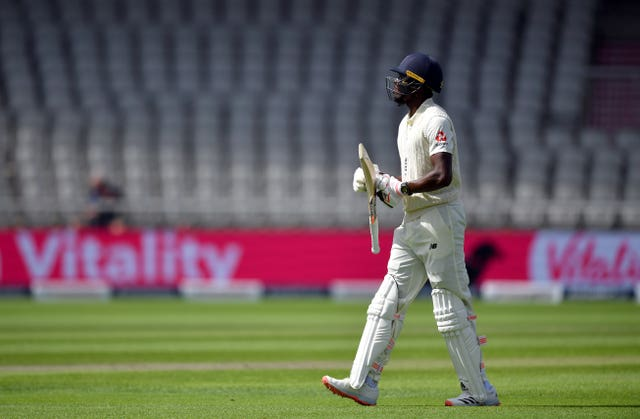 Root believes the lack of fans might have affected Jofra Archer.
