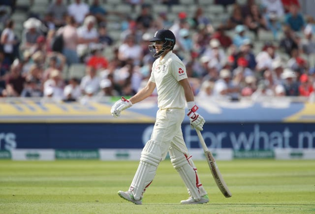 Joe Root's conversion rate is a concern