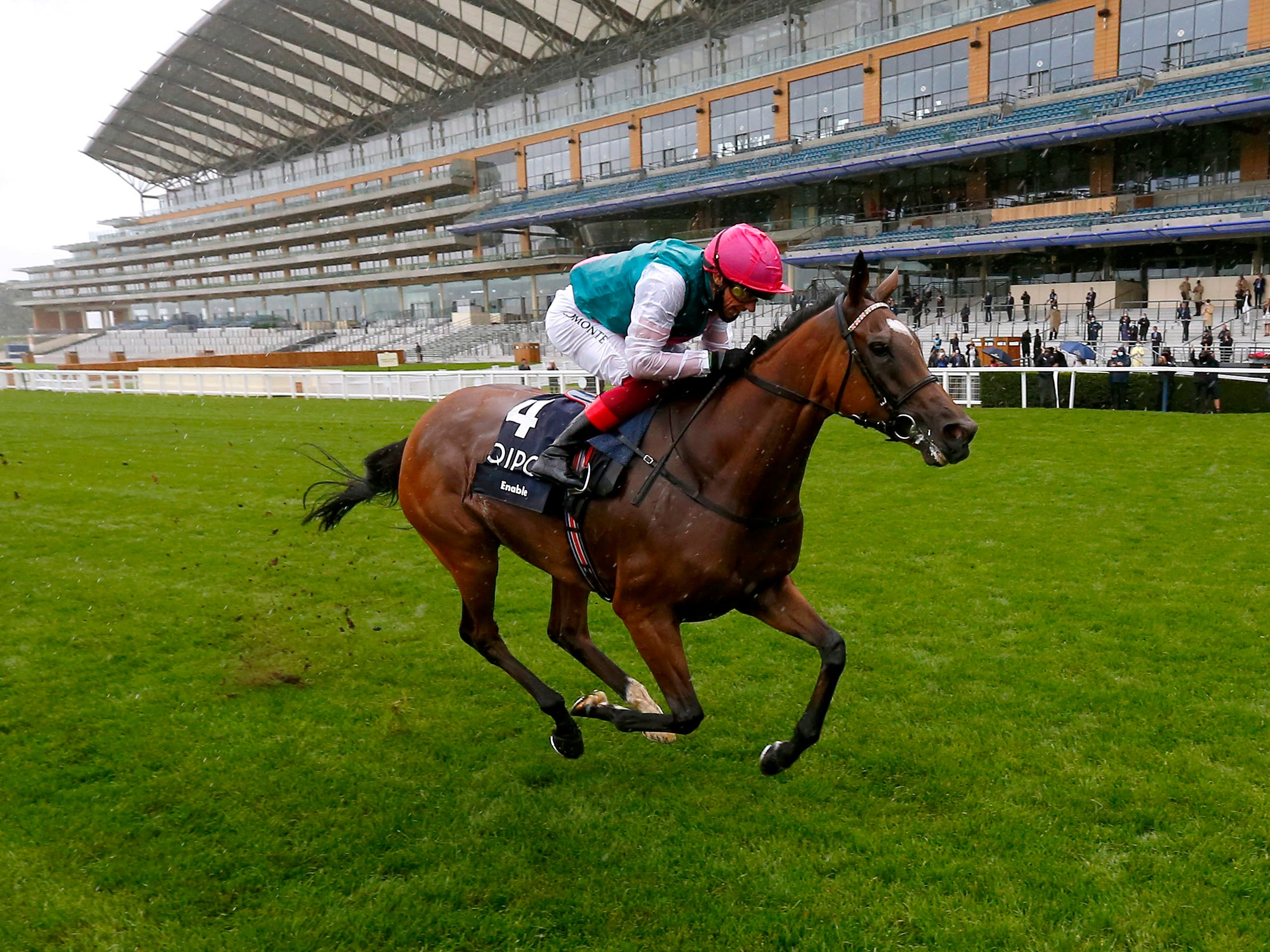 Enable strolled to victory in the King George (Dan Abraham/PA)