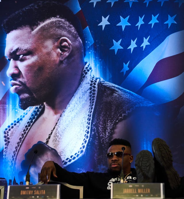 Jarrell Miller said on Thursday he has never knowingly taken any banned substance