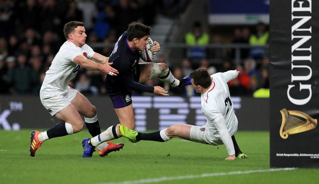 Johnson played a key role as Scotland fought back for a draw against England