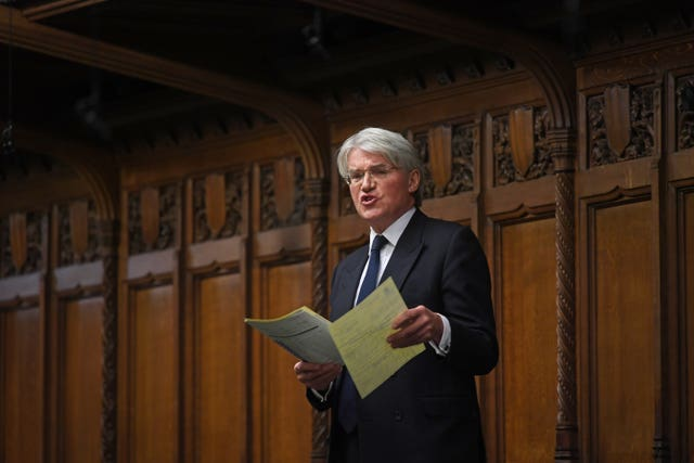 Former Tory international development secretary Andrew Mitchell