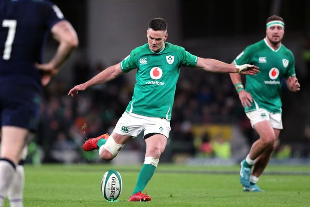 Jonny Sexton is relieved Ireland's win keeps them alive in the Six Nations title race