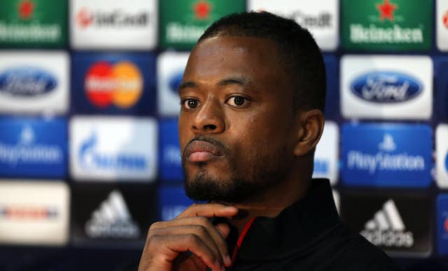 Patrice Evra described Arsenal as 'babies' after the game (Peter Byrne/PA)