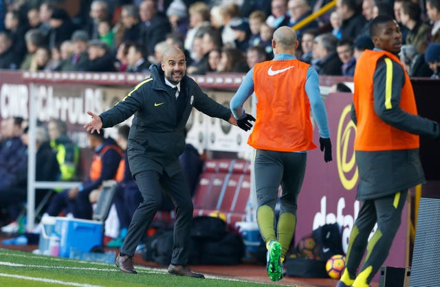 Guardiola and Zabaleta worked together for one year
