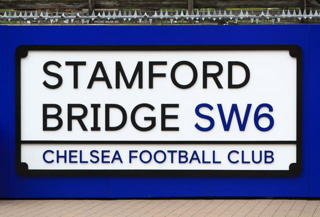 Stamford Bridge will not be able to screen the match