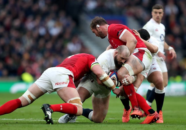Joe Marler (centre) could be cited