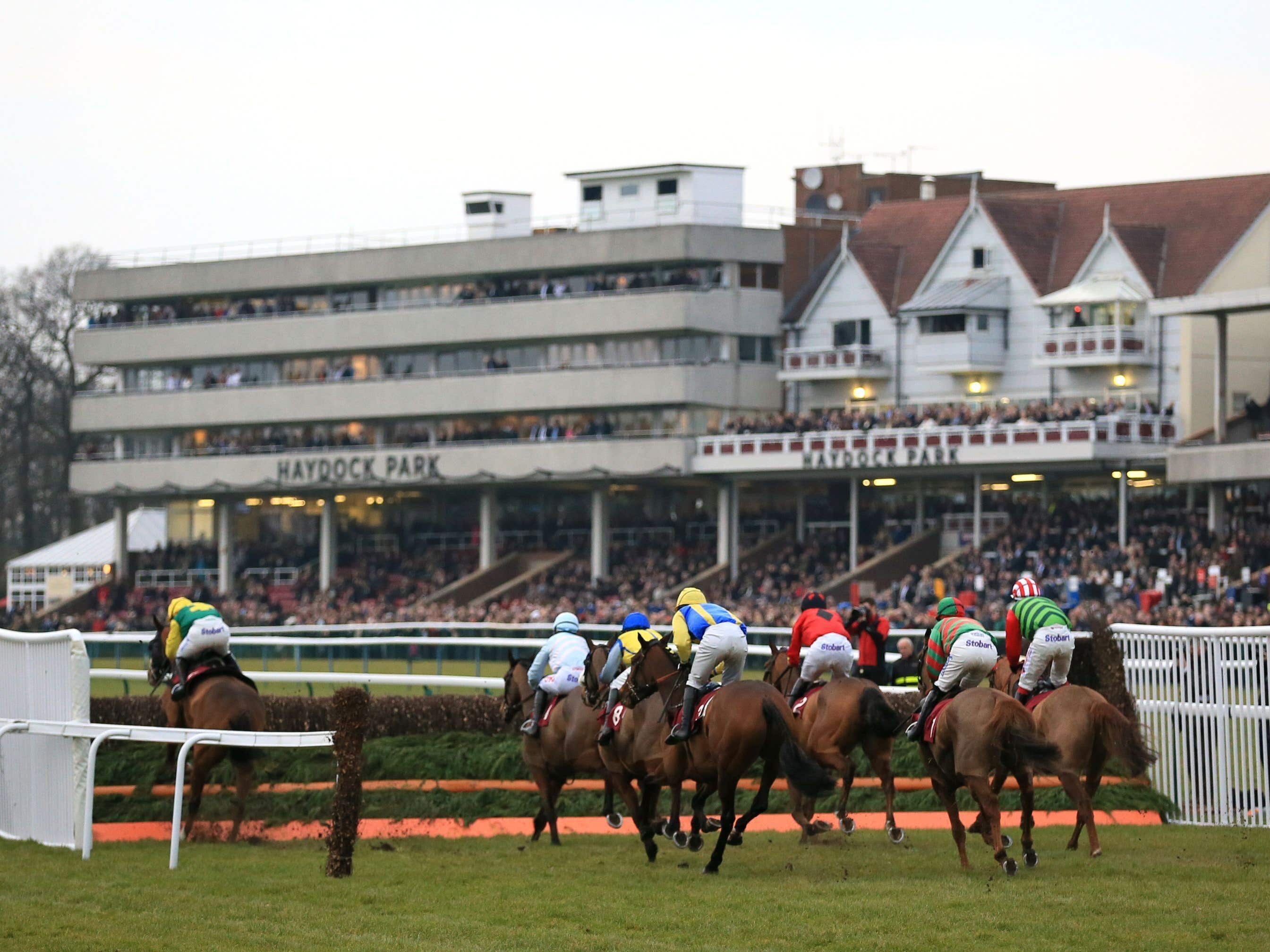 Haydock may still race on Saturday but faces a second inspection (Nigel French/PA)