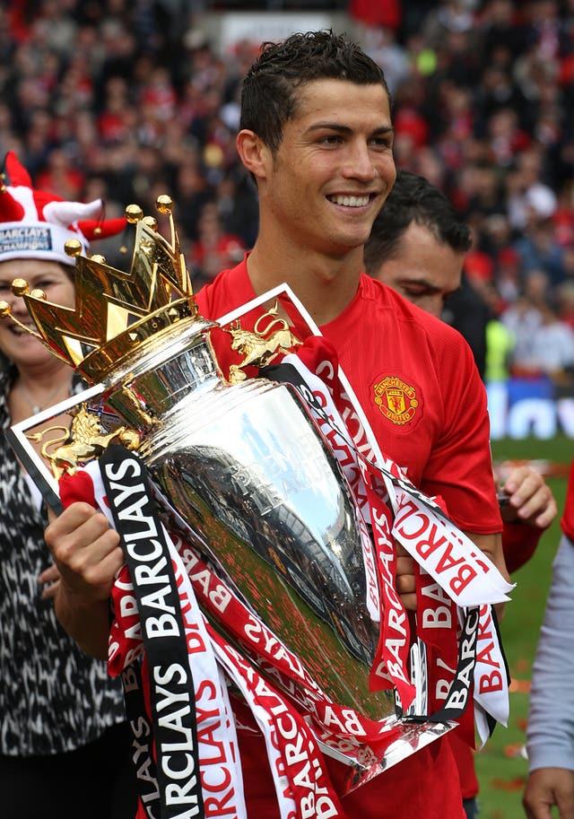 Ronaldo enjoyed great success with Manchester United