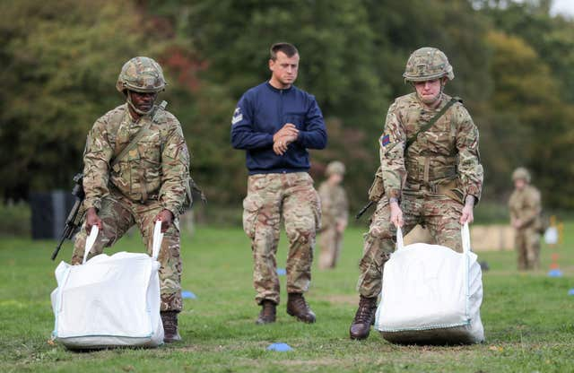 Army fitness test