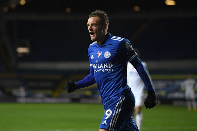 Leicester's Jamie Vardy has scored seven goals in 11 appearances against Leicester