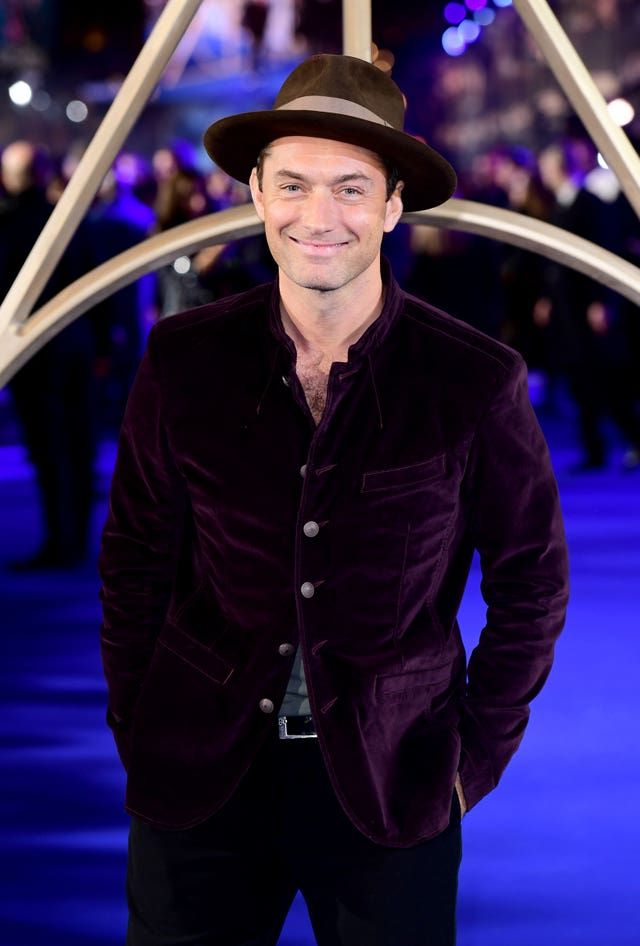 Jude Law at a premiere