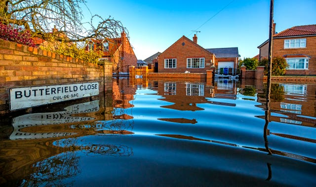 Flooding in East Yorkshire