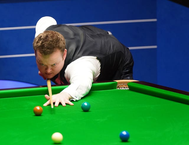 Shaun Murphy battled bravely in Sheffield