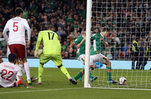 Seamus Coleman scored the last time the Republic of Ireland hosted Georgia