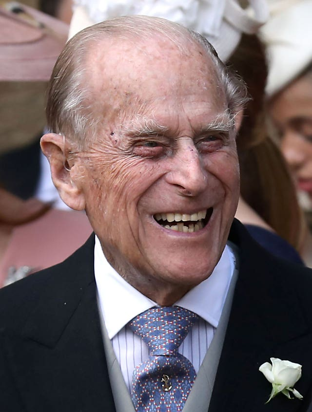 Duke of Edinburgh in hospital