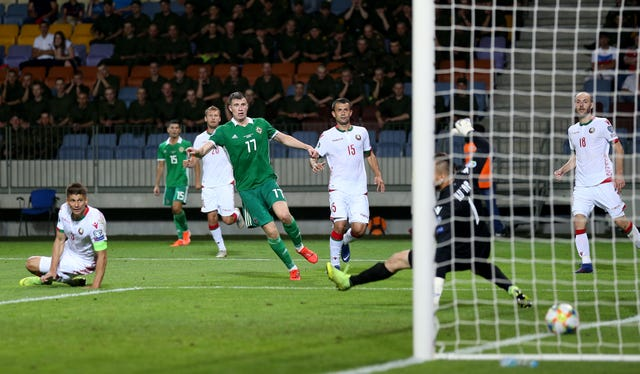 Paddy McNair left it late before netting the winner for Northern Ireland