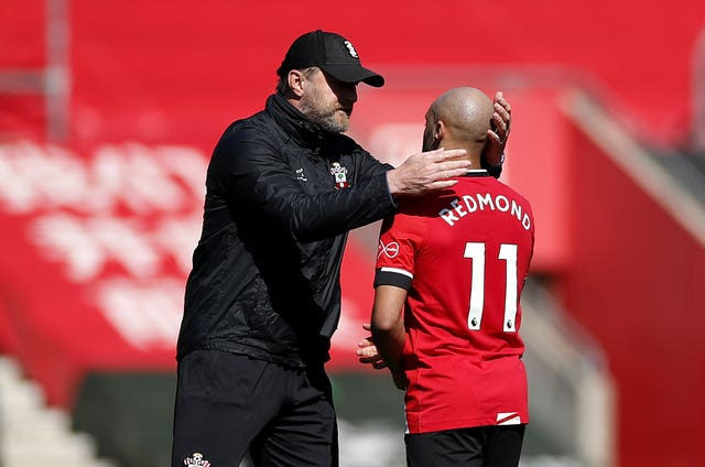 Ralph Hasenhuttl believes in Nathan Redmond's ability